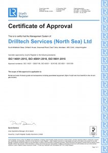 ISO Certificate of Approval